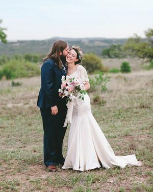 A Rustic, Romantic Outdoor Wedding in Texas