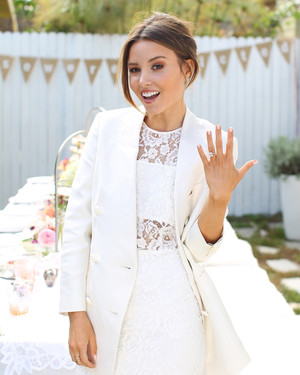 a shabby chic party for blogger and bride to be geri hirsch