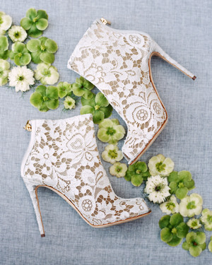 52316304f06e18 25 Nontraditional Wedding Shoe Ideas from Stylish Brides
