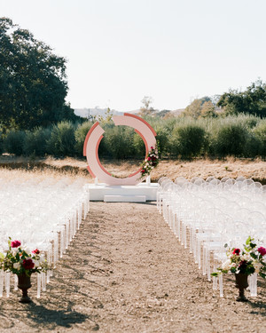 This Modern Vineyard Wedding in Santa Ynez, California, Was Inspired by Nature