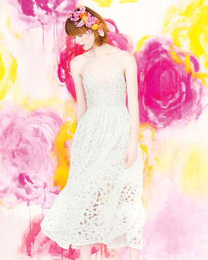 How to Add Color to Your Wedding Dress