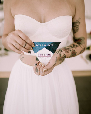 Modern Save-the-Dates for a Contemporary Celebration