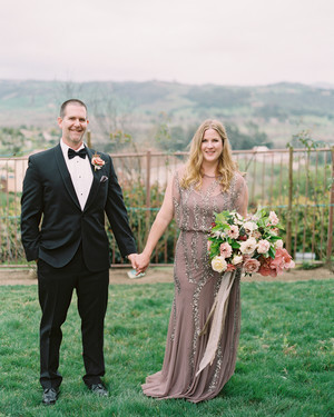 A Surprise Wedding at the Bride's Rose Farm in California