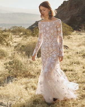 Modern Lace Wedding Dresses From Spring 2012 Bridal