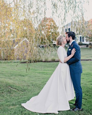 A Charmingly Bespoke Fall Wedding in New Jersey