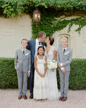 A Chic, Family-Oriented Destination Wedding in France
