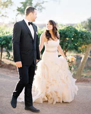 Summer and Bryan's California Vineyard Wedding