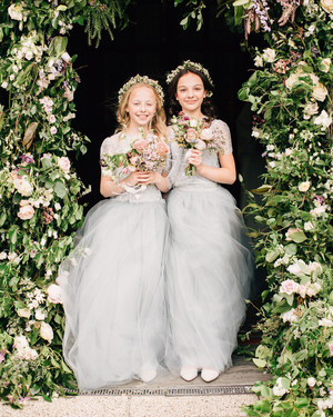 b61e5cb8bb6 The Best-Dressed Flower Girls from Real Weddings
