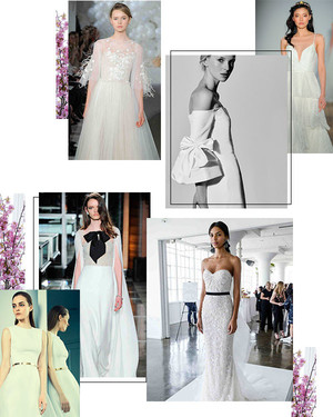 10 Wedding Dress Trends from Spring 2018 Bridal Fashion Week