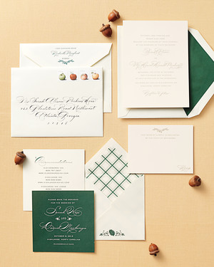 20 Years of Wedding Wisdom: Picking Your Stationery