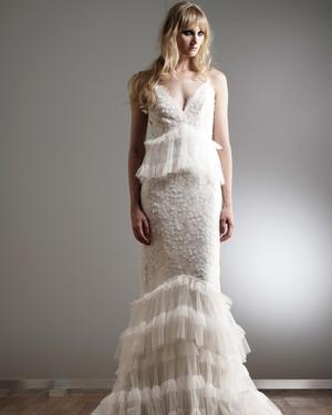 Elizabeth Fillmore Spring 2018 Wedding Dress Collection