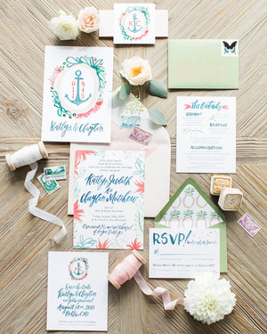 The Etiquette of Wedding Invitation Enclosures Martha Stewart Weddings