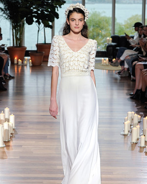 Laure de Sagazan Fall 2018 Wedding Dress Collection