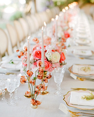 The Prettiest Spring Wedding Centerpieces