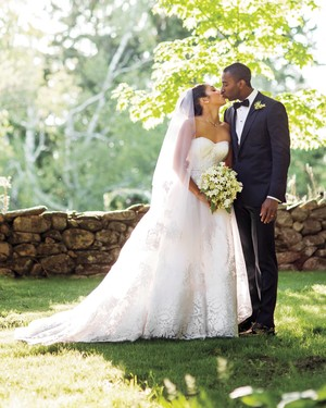 This Blue-and-White Wedding in Connecticut Was Inspired by a China Pattern
