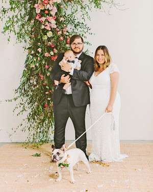 A Modern, Confetti-Filled Wedding at a Gallery in Philadelphia
