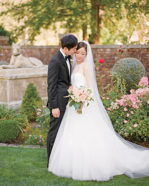 Bomi and Billy's Garden Wedding at Thornewood Castle