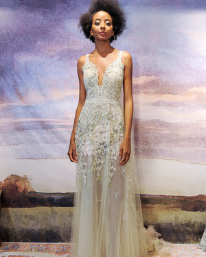 Claire Pettibone Fall 2018 Wedding Dress Collection
