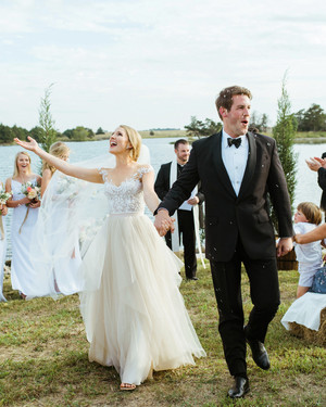 An Intimate Wedding at the Groom's Family Ranch in Oklahoma