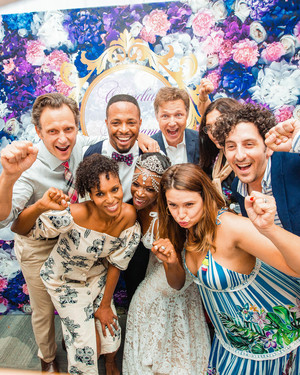 "The Cast of ""Scandal"" Reunited for Cornelius Smith Jr. and Stephanie Lilly's Tropical Wedding in Mexico"