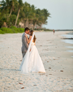 A Lemon-Inspired Beach Wedding in Naples, Florida