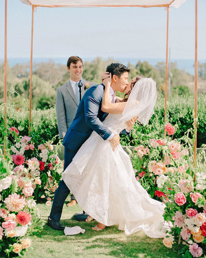 A Fun, Modern California Wedding