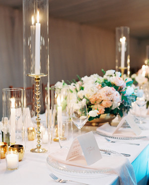 50 wedding centerpiece ideas we love martha stewart weddings 84 candle centerpieces that will light up your reception junglespirit Choice Image
