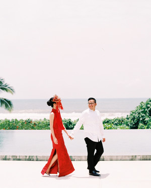 An Oceanside Wedding in Bali, Indonesia