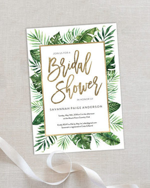 Bridal shower etiquette you need to know martha stewart weddings 10 affordable bridal shower invitations you can print at home filmwisefo