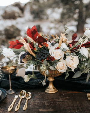 Winter Wedding Centerpieces That Nod to the Season