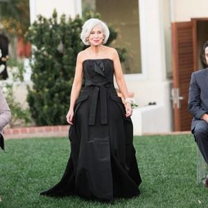 mother of the bride black dress