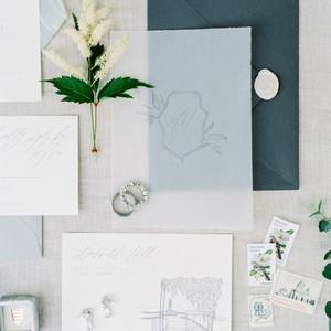 wax seal wedding invitations wide wax seal