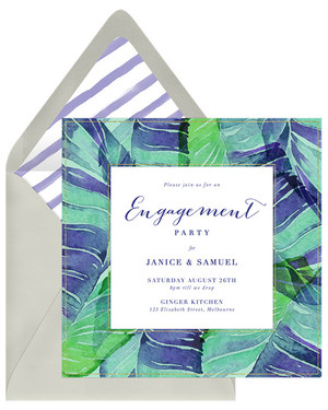 29 Paperless Engagement Party Invitations