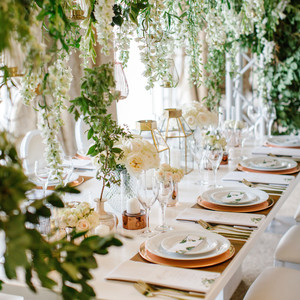 chloe shayo south africa wedding reception tables flowers place settings