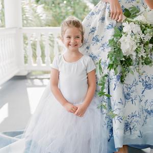 christina matt wedding charleston sc flower girl