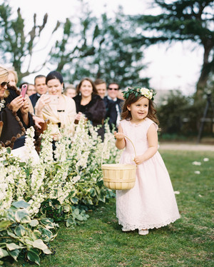 7a8a65601 The Best-Dressed Flower Girls from Real Weddings | Martha Stewart ...