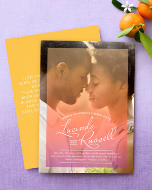30 modern wedding invitations we martha stewart weddings