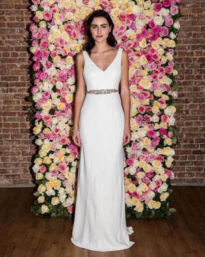 White Wedding Rehearsal Dress 94 Best Wonder by Jenny Packham