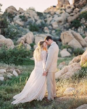 An Intimate, Boho Wedding in the California Desert