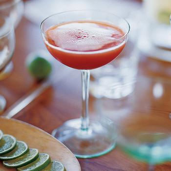 Blood Orange Champagne Cocktails