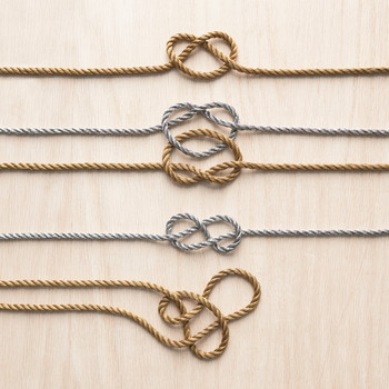 How to Tie Knots for Easy Wedding Projects
