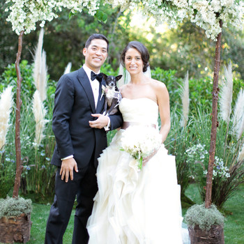 A Formal, Romantic Garden Wedding in California