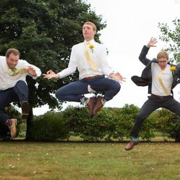 Is This Groomsman's Ripped Pants a Reason to Retire the Jumping Photo?