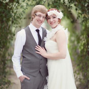 A Rustic, Vintage Pastel Wedding Outdoors in Colorado