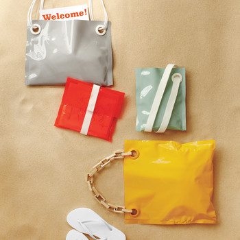 No-Sew Welcome Bag How-to