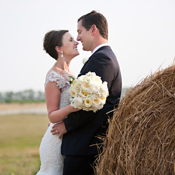 A Vintage Rustic Farm Destination Wedding in Kansas