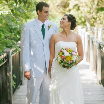A Crafty, Rustic Outdoor Wedding in Bellevue, Nebraska