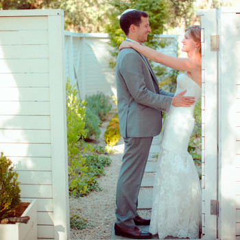 A Teal, Blue, and Tan Rustic Destination Wedding in California