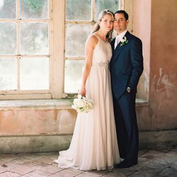 A Romantic Vintage Destination Wedding in England