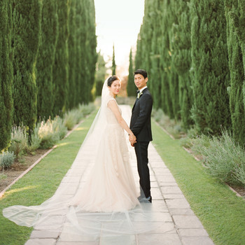 Annie and Tad's Elegant Beverly Hills Wedding